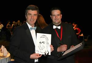 John Stapleton with Mickey Toones