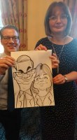Caricature Artist Wedding Liverpool