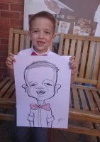 Ipad Digital Caricatures Manchester