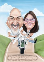 Awedding Caricature Artist