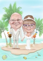 Caricature Artist Hire  Wedding Caricatures