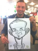 A Crewe Wirral Caricaturr Artist