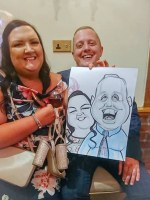 Caricature Artist South Cheshire Chestwer Stoke