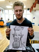 Caricature Wedding Hire Manchester