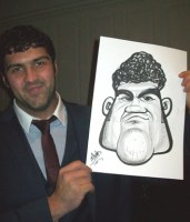 A COLNE Caricature Artist Manchester