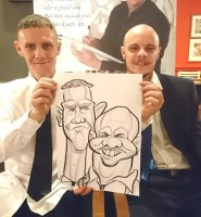 Caricature Artists Chester Liverpool