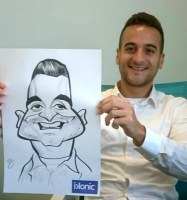 Manchester Caricature Artist Wedding Hire