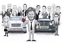 Bentley Caricature