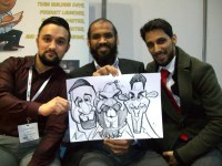 Manchester Uk Blackbyrn Caricature Artists Uk