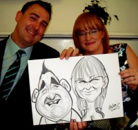 A Crewe Caricatur Hire Chester